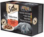 Sheba Selection alutasakos eledel - húsos válogatás 12x85g