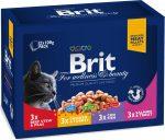 Brit Premium Cat Family multipack 12x100g
