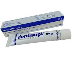 Dentisept-Gingimed  gél (paszta) 20g