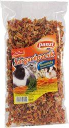 Panzi rágcsáló eleség sárgarépacsík 450g