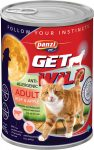 Panzi GetWild Cat Adult Beef & Apple 415g