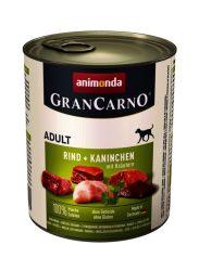 Animonda GranCarno Adult 800g marha-nyúl gyógynövénnyel (82767)