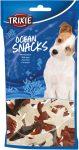Trixie 31634 Ocean snacks - jutalomfalat (csirke,tonhal) kutyák részére (14db/100g)