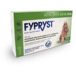 Fypryst spot on 1,34ml spot on 10-20kg kutyák részére 1db