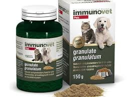 Immunovet granulátum kutyának és macskának 150g