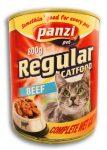 Panzi Regular cat Adult konzerv 800g marha