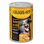 JULIUS K-9 konzerv Pulyka-rizs 1240g