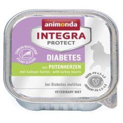 Animonda Integra Protect Diabetes Cat Pulykasziv 100g - nedvestáp túlsúlyos vagy cukorbeteg macskáknak (86629)