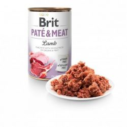 Brit Paté & Meat Bárány 400g konzerv