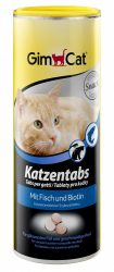 Gimcat Katzentabs mit Fisch halas drazsé 710db