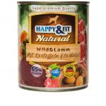 Happy&Fit Natural Wild&Lamm mit Kartoffeln&Distelöl 6x400g