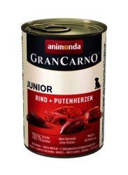Animonda GranCarno Junior 400 g - marha-pulykaszív (82728)