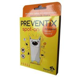 Preventix Spot On kutyák részére 5x1 ml