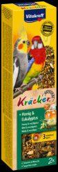 Vitakraft Kracker Dupla Rúd (méz,eukaliptusz) – kiegészítő eleség nagypapagáj részére (180g)