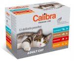 Calibra Cat Premium Line Adult Multipack 12x100g