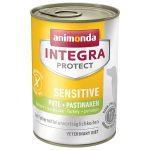 Animonda Integra Protect Sensitive  Pulyka+Paszternák 400g