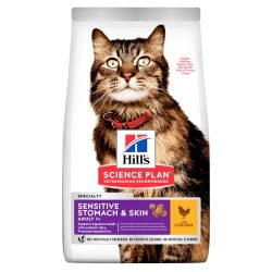 Hill's SP Feline Adult Sensitive Stomach & Skin 1,5kg