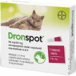 Dronspot 96 mg/24 mg rácsepegtető oldat nagytestű macskáknak 2x1,12ml