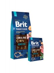 Brit Premium by Nature Lamb & Rice kutyatáp