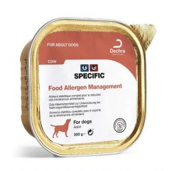 Specific CDW Food Allergy Management Dog 6x300g  pástétom