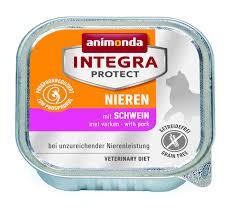 Animonda Integra Protect Nieren Sertés 100g - alutálca vesebeteg macskáknak (86801)