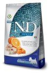 N&D Dog Ocean adult mini cod, pumpkin & orange (tőkehal, sütőtök & narancs)
