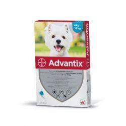 Advantix spot on ampulla kutyáknak 4-10kg között 1db
