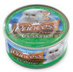 PRINCESS PREMIUM konzerv csirke, tonhal és zöldségek rizzsel 170g