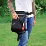 Trixie 28863 Hip Táska 57-138 cm fekete/szürke