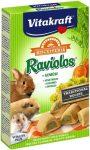 Vitakraft Raviolos - kiegészítő eleség rágcsálóknak (zöldséges) 100g