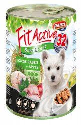 Fit Active dog junior konzerv liba-nyúl 415g