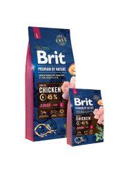 Brit Premium by Nature Junior Large Breed kutyatáp 15 kg