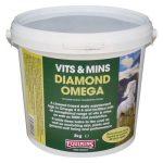 Equimins Diamond Omega – Őrölt porlasztott vitaminos lenmag vödörben