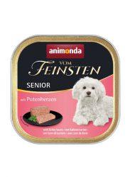 Animonda Vom Feinsten Senior 11x150g pulykaszívvel (82981)