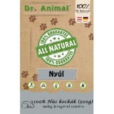 Dr. Animal 100% szárított nyúlhús kockák 500g