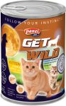 Panzi GetWild Cat Junior Liver & Apple 415g