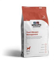 Specific CDD Food Allergy Management Dog