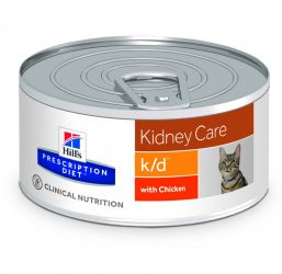 Hill's PD Feline k/d Minced chicken 156g