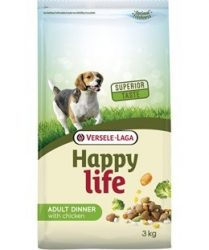Versele- Laga Happy Life Adult Chicken Dinner kutyának 15kg (431106)