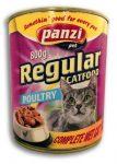 Panzi Regular cat Adult konzerv 800g szárnyas