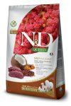 Farmina N&D Canine Grain Free Quinoa Bőr&Szőr száraztáp szarvassal