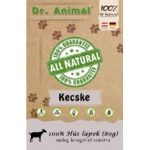 Dr. Animal 100% szárított kecskehús lapok 80g