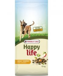 Versele- Laga Happy Life Adult Energy Chicken kutyának 15kg (431102)