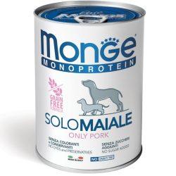 Monge MONOPROTEIN 100% sertés pástétom 400g