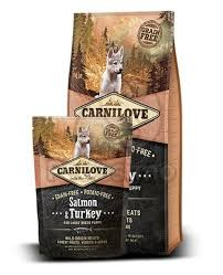 CarniLove Large Puppy Salmon & Turkey (lazac-pulyka) 1,5kg