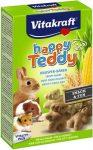 Vitakraft Happy Teddy (gabona,zöldség) - kiegészítő eleség rágcsálóknak (75g)