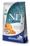 N&D Dog Ocean adult medium & maxi cod, pumpkin & orange (tőkehal, sütőtök & narancs)