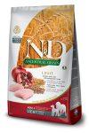 N&D Dog Ancestral Grain Adult Light medium & maxi chicken & pomegranate (csirke & gránátalma) 12kg