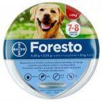Foresto nyakörv kutyáknak ,bolha-kullancs ellen 70cm