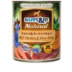 Happy&Fit Natural Ente&Schinken Mit Kürbis&Aloe Vera 6x400g